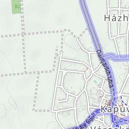 magyarország térkép kapuvár Kapuvár Magyarország kerékpárút térkép magyarország térkép kapuvár