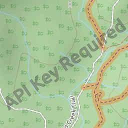 Mountain Bike Trail Gap Creek Reserve Pipeline