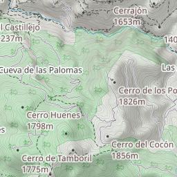 Los Cahorros Monachil Mapa.Los Cahorros