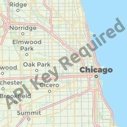 Chicago Map Of Us - Chicago in us map