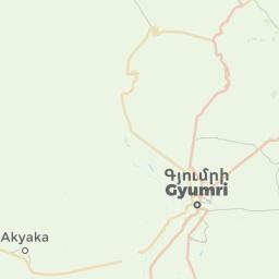 Gyumri Armenia Offline Map For IPhone IPad IPod Touch - Gyumri map