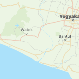 Yogyakarta Indonesia Offline Map For IPhone IPad IPod Touch - Yogyakarta map
