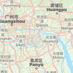 Guangzhou China Offline Map For IPhone IPad IPod Touch - Guangzhou map