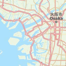 Osaka Japan Offline Map For IPhone IPad IPod Touch - Japan map offline