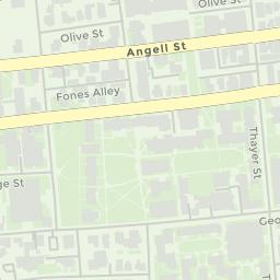 Rockefeller University Campus Map.Map Brown University Mobile Website