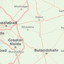 New Delhi India Offline Map For IPhone IPad IPod Touch - Bulandshahr map