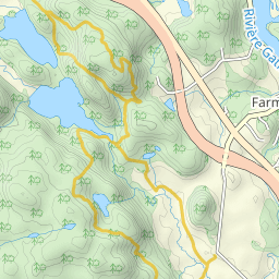 Gatineau Park Mountain Bike Trail Map Elevation Profile and GPS