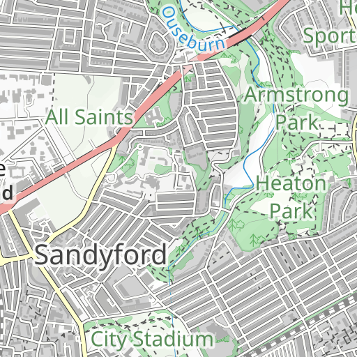 Segment Details for Jes Dene to under Armstrong Bridge